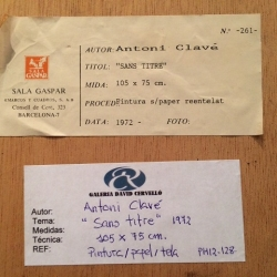Clavé, Antoni